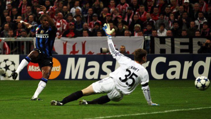 Aus in der Champions League: Pandev trifft Bayern ins Herz