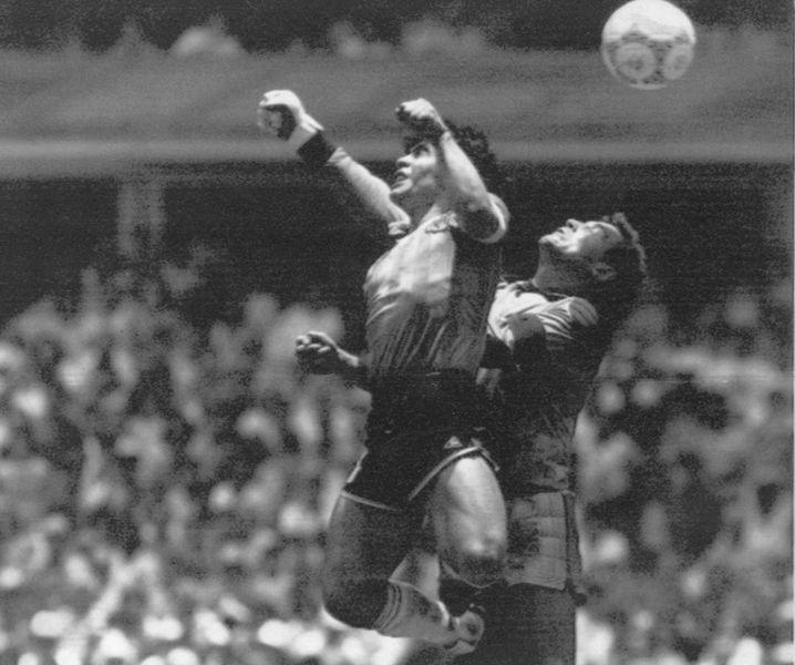 WM 1986, die Hand Gottes, ein fußballhistorischer Moment
