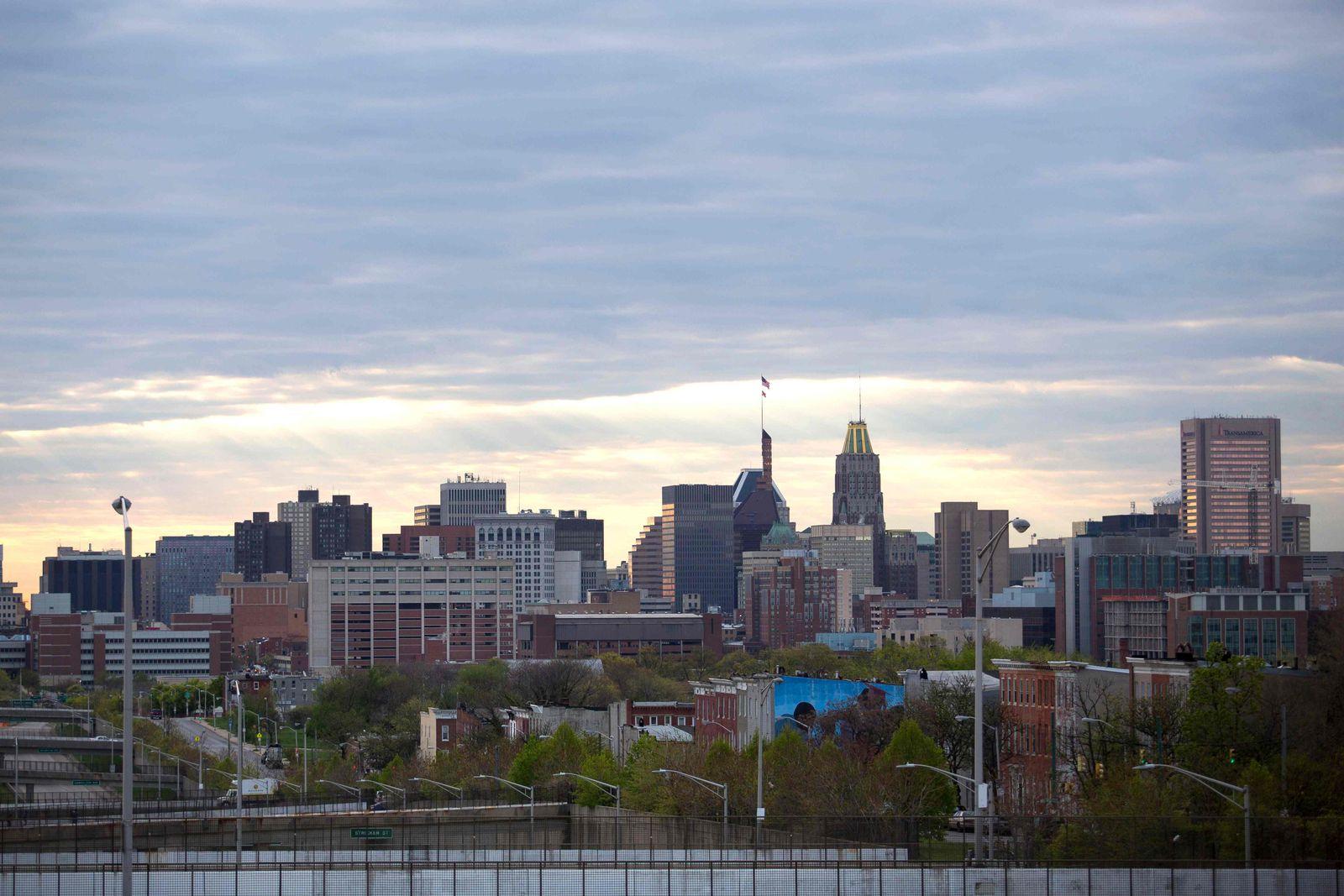 Baltimore Stadtansicht