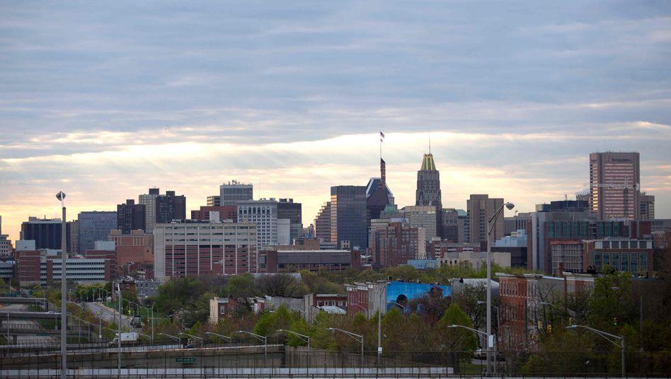 """Stadtansicht von Baltimore: """"Gefährlichster"""" Ort der USA"""