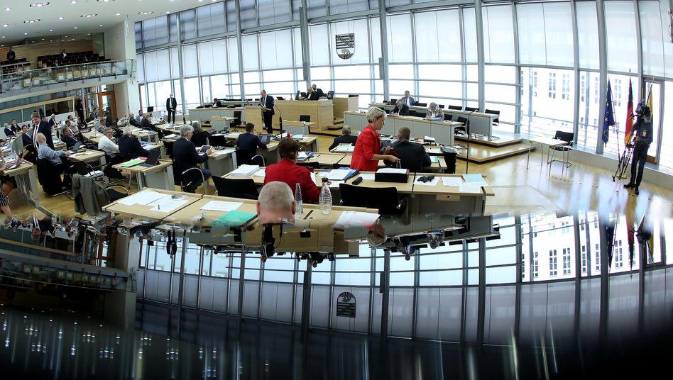 Plenum des Landtags in Sachsen-Anhalt