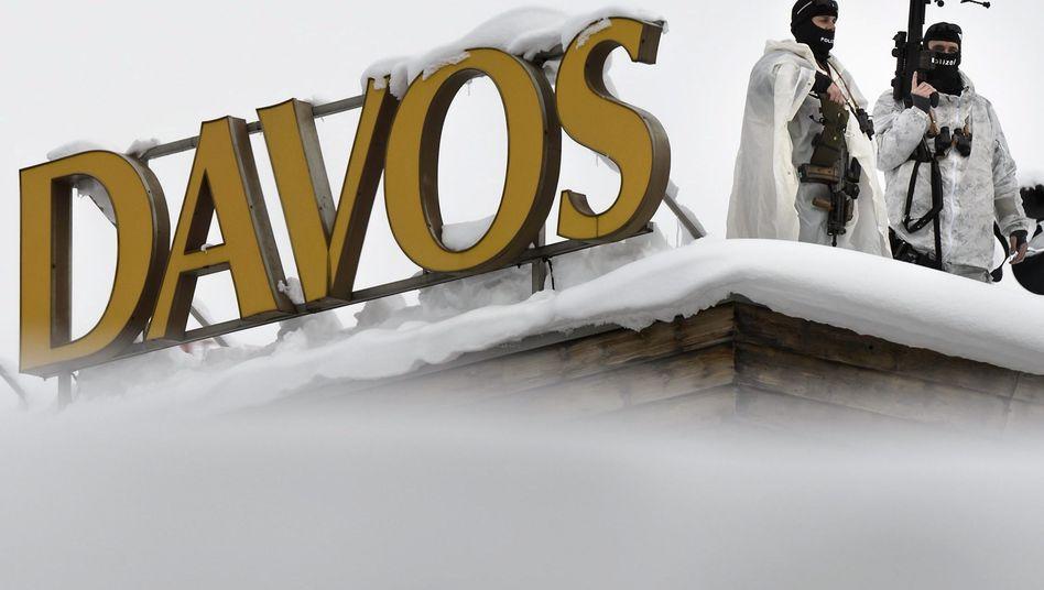 Schweizer Spezialkräfte in Davos: Gipfel der Sorgenvollen