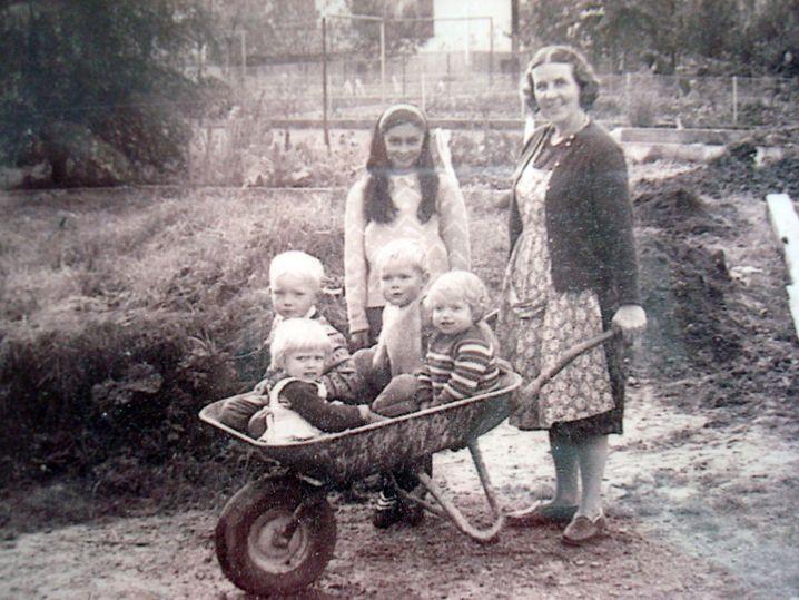 Familie Koch (in den Sechzigerjahren)