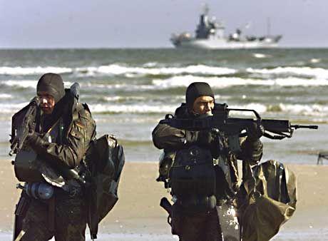 Deutschlands Marines: Kampfschwimmer der Bundeswehr