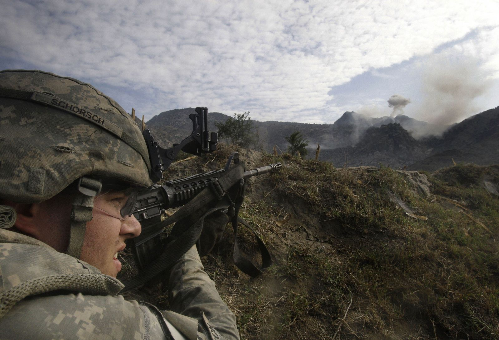 US-Soldat in Afghanistan