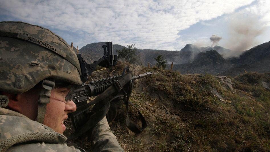 US-Soldat in Afghanistan: Viele Bewerber scheitern an den Fitnesstests