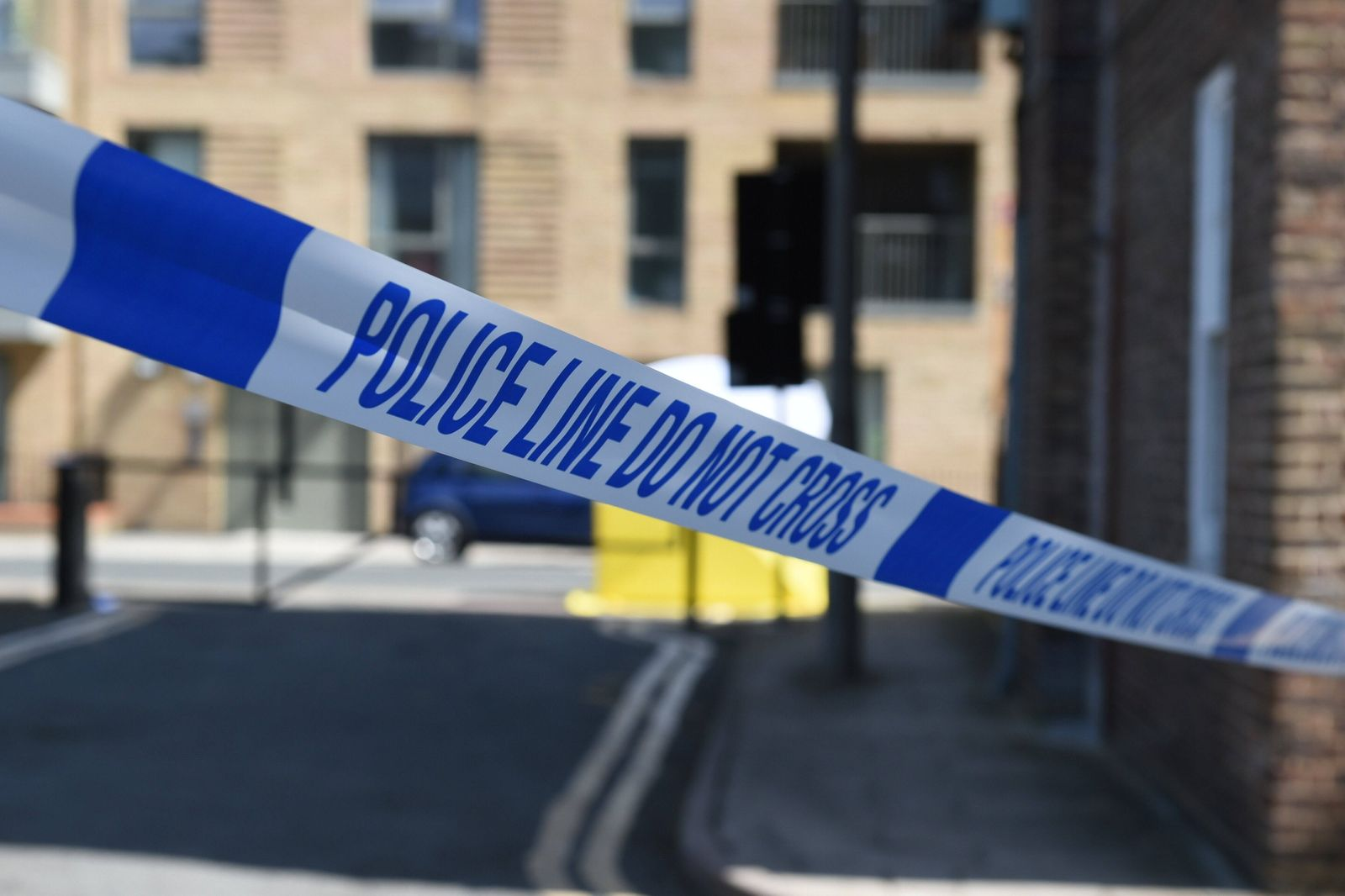 . 12/07/2020. London, United Kingdom. Black Prince Estate stabbing. Police and forensics officers can be seen loocking