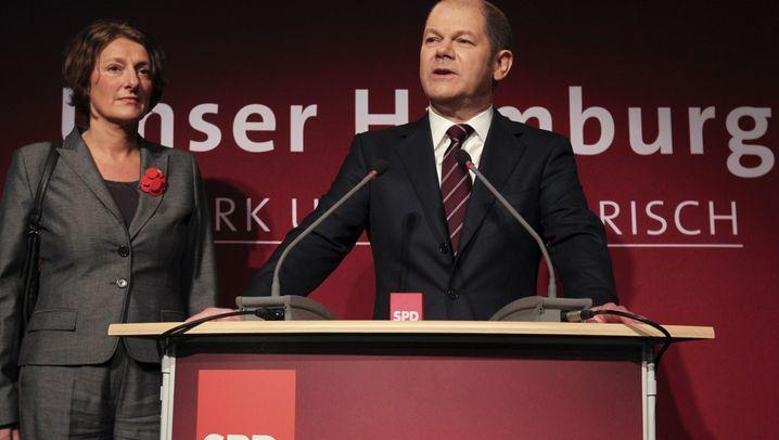 Wahlabend in Hamburg: Jubel, Frust und massig Arbeit