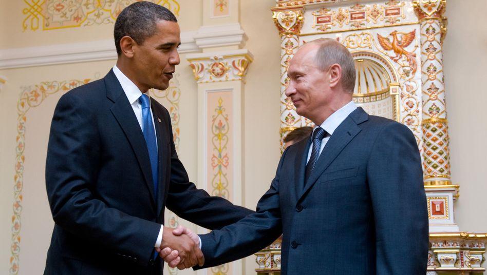 US Präsident Obama, russischer Staatschef Putin: Von wegen vertrauensvolle Partnerschaft