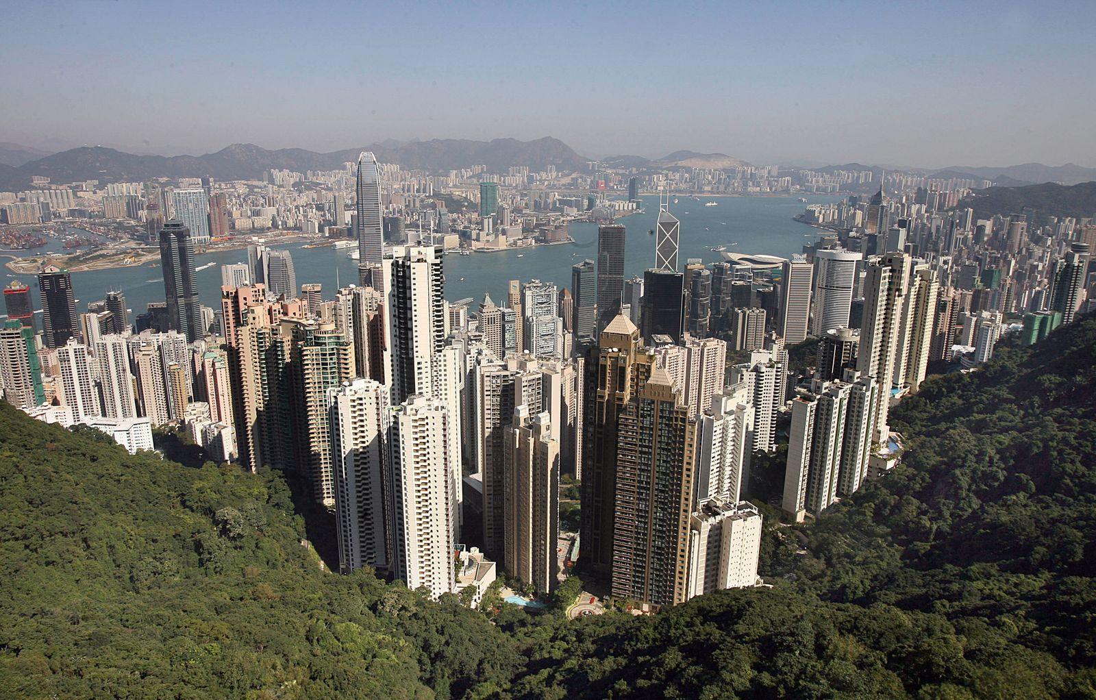 HONG KONG-ECONOMY-PROPERTY