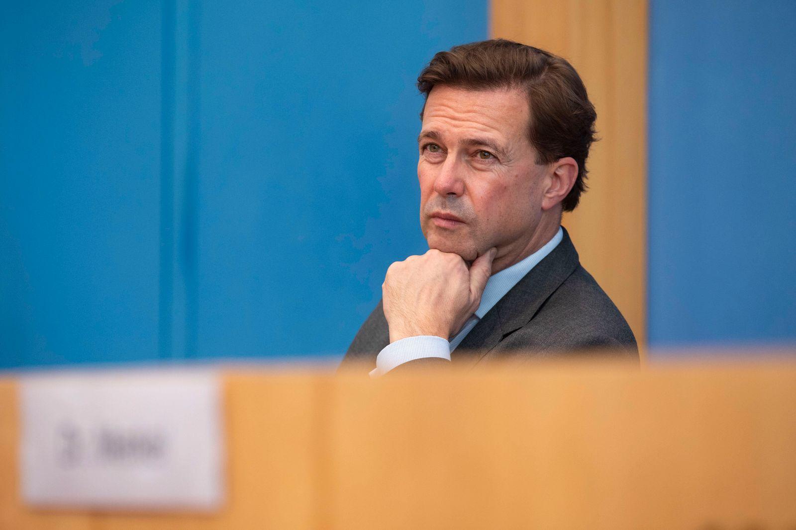 Deutschland, Berlin, Bundespressekonferenz, Thema Die Datenschutzgrundverordnung, Bundeskanzlerin Angela Merkel CDU, Re