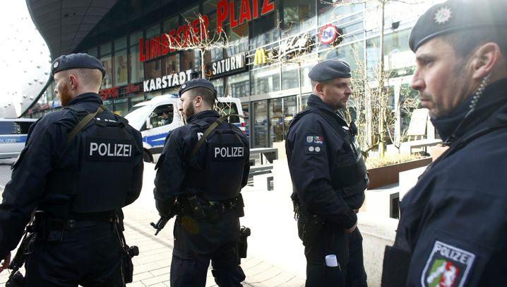 Essen: Ausnahmezustand am Einkaufszentrum