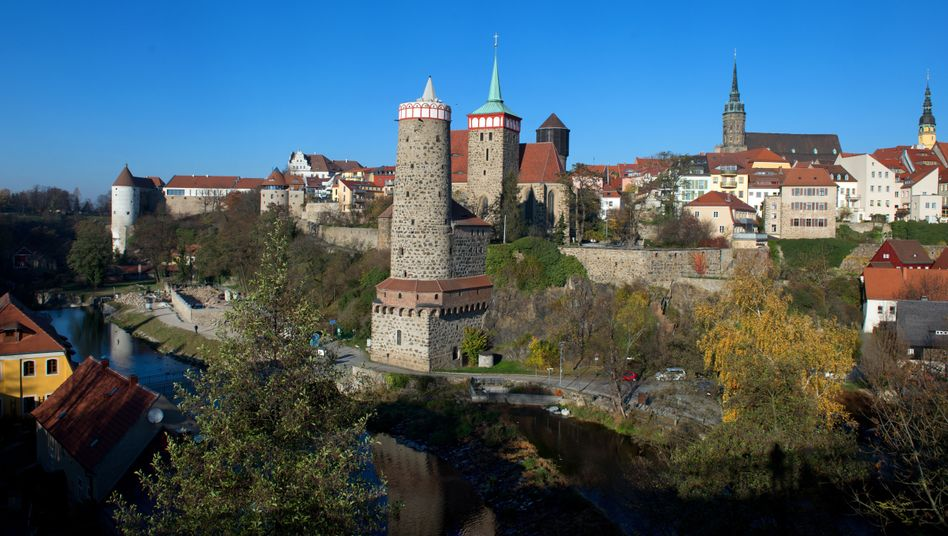 Altstadt von Bautzen (Archivbild): Vorfälle an mehreren Orten