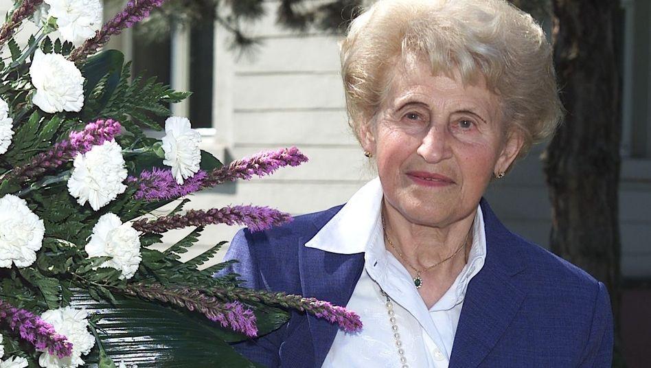 Inge Buback (Archivbild): Am 6. September im Alter von 92 Jahren in Karlsruhe