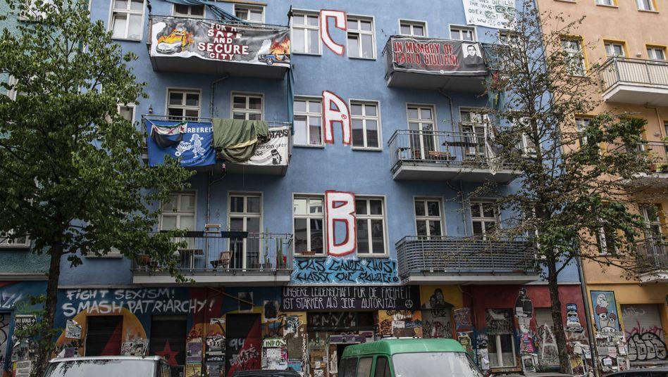 Rigaer Straße in Berlin: Kampf gegen den Mietenanstieg