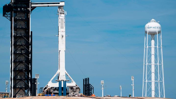 """SpaceX-Testflug: """"Crew Dragon"""" ist gestartet"""