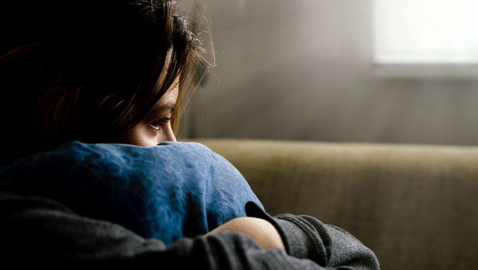 Depressive Person (Symbolbild)