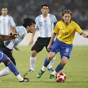 Argentinien-Stürmer Agüero (l.): Zwei Tore, eine Vorarbeit