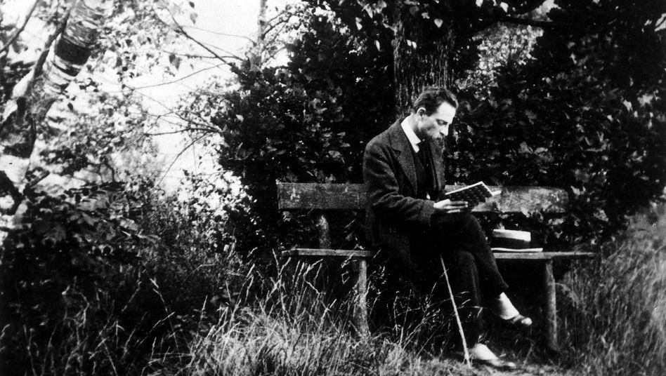 Rainer Maria Rilke im Schwarzwald 1913