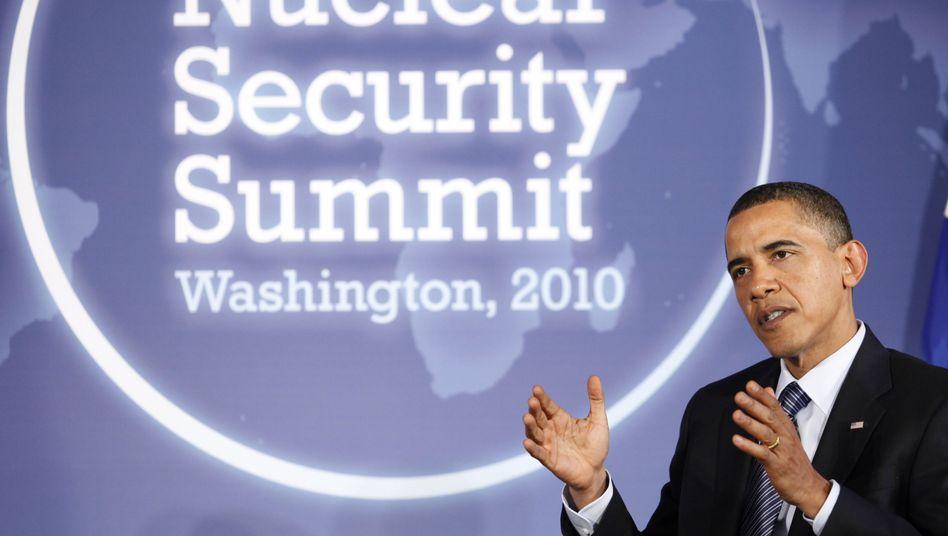 Atomgipfel in Washington: Obama kämpft für ein bisschen Frieden
