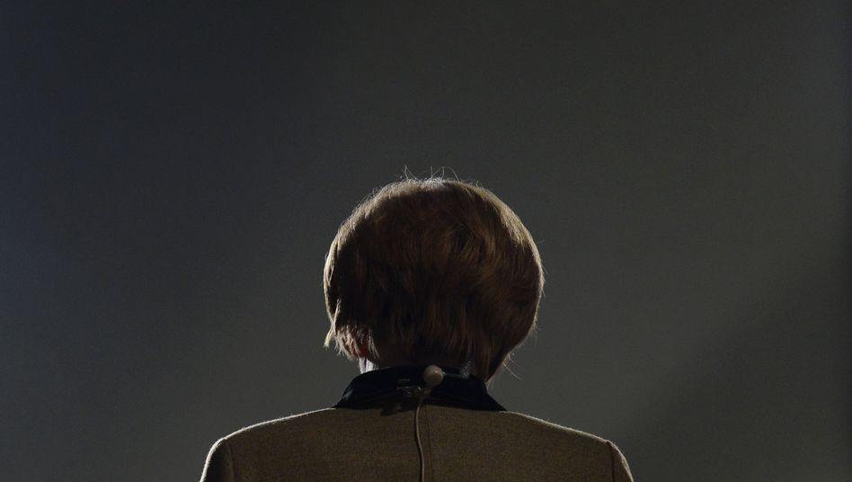 German Chancellor Angela Merkel has no more challengers left in her own party.