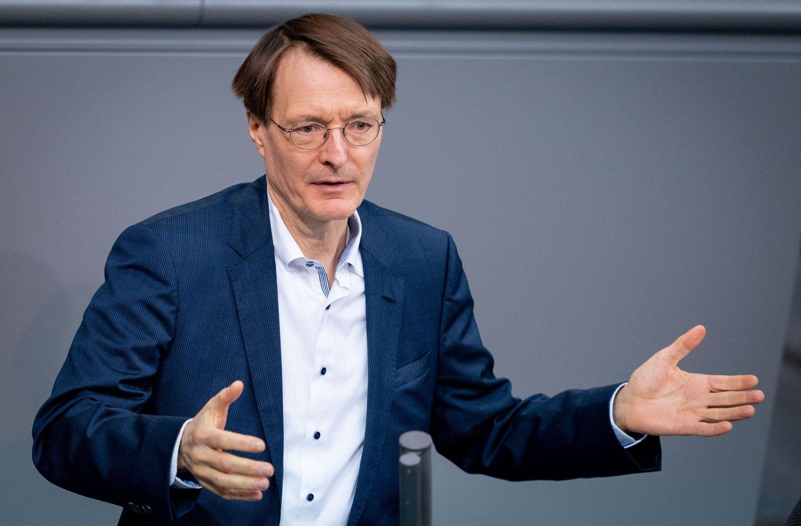 SPD-Gesundheitsexperte Lauterbach