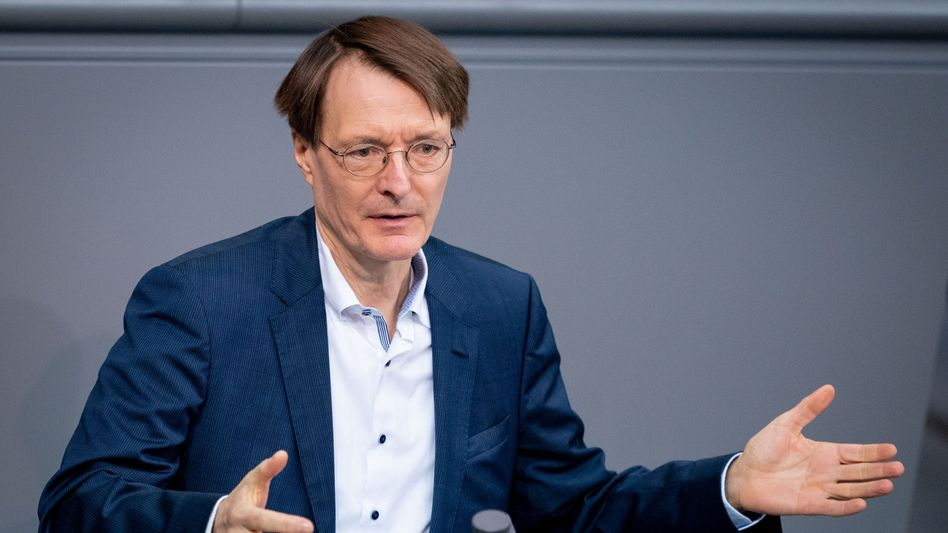 Karl Lauterbach im Bundestag, Januar 2020