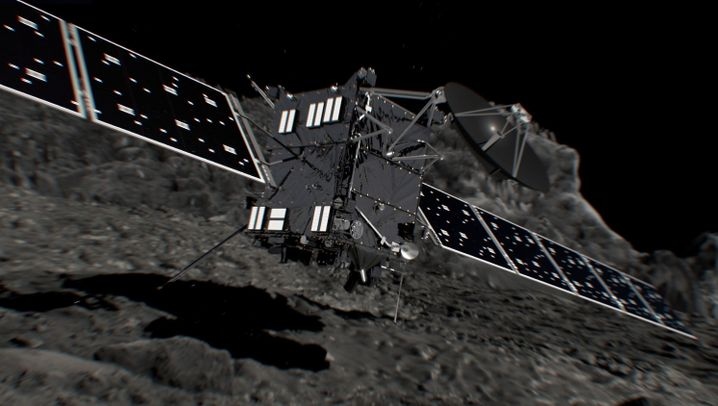 """""""Rosetta""""-Mission: Finaler Crash auf Tschuri"""