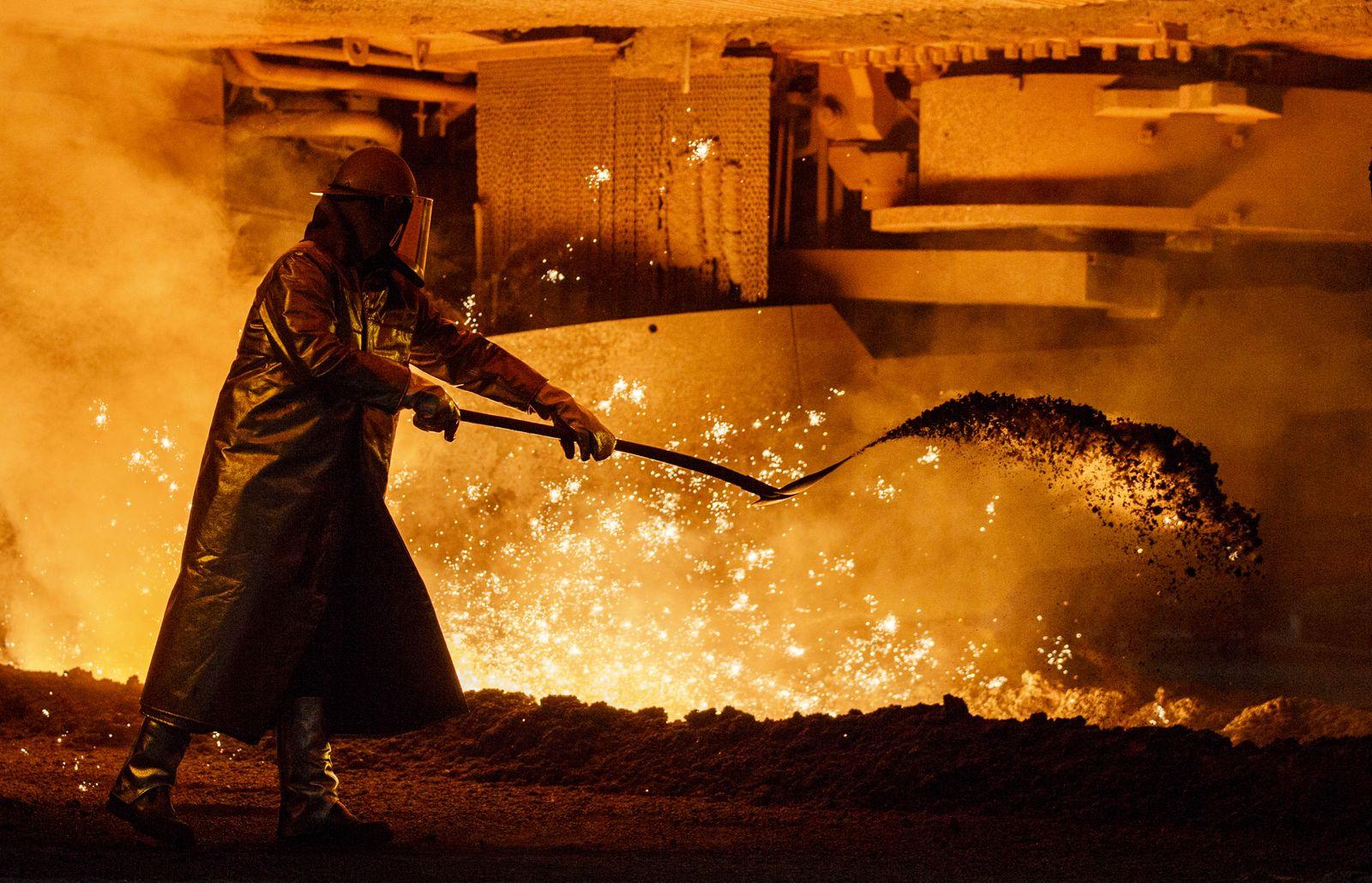 Stahl-Industrie Deutschland / Salzgitter