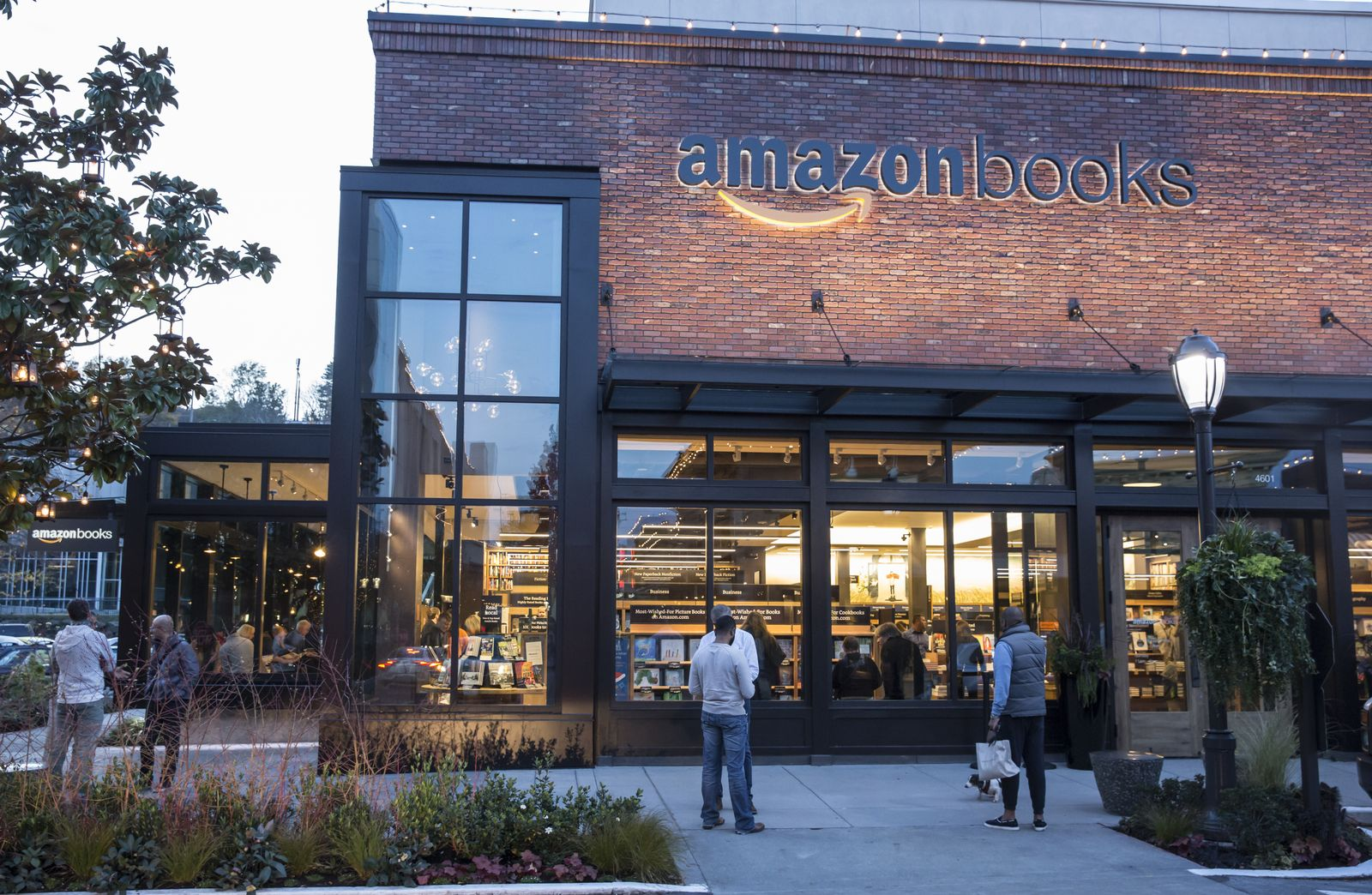 Amazon Books / Buchladen