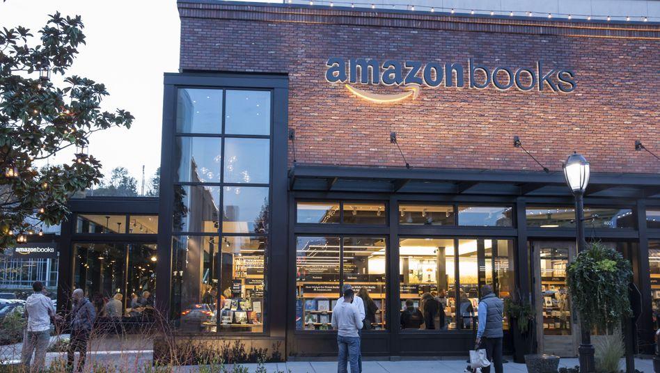 Amazon-Buchladen in Seattle: Bald Konkurrenz für den Marktführer?