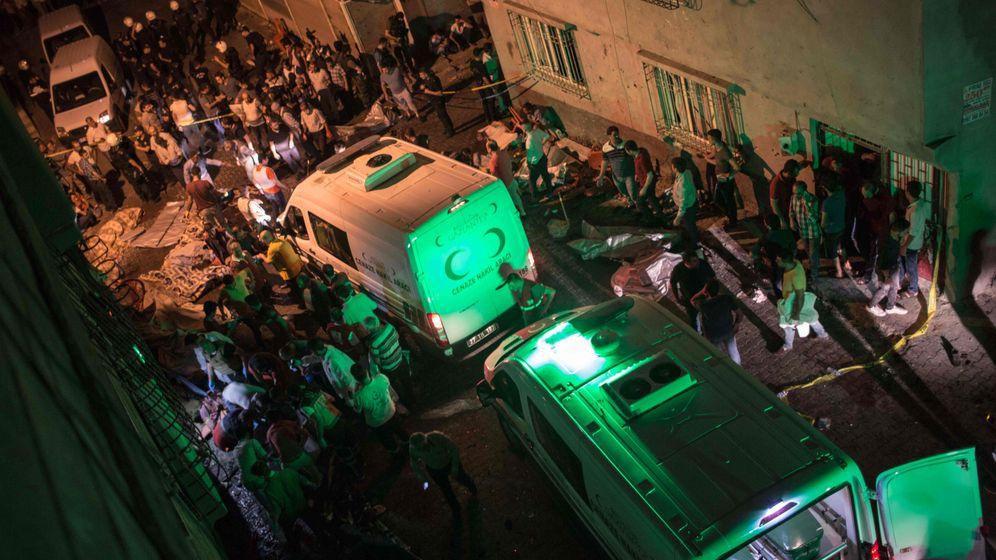 Anschlag in der Türkei: Die leeren Gräber von Gaziantep