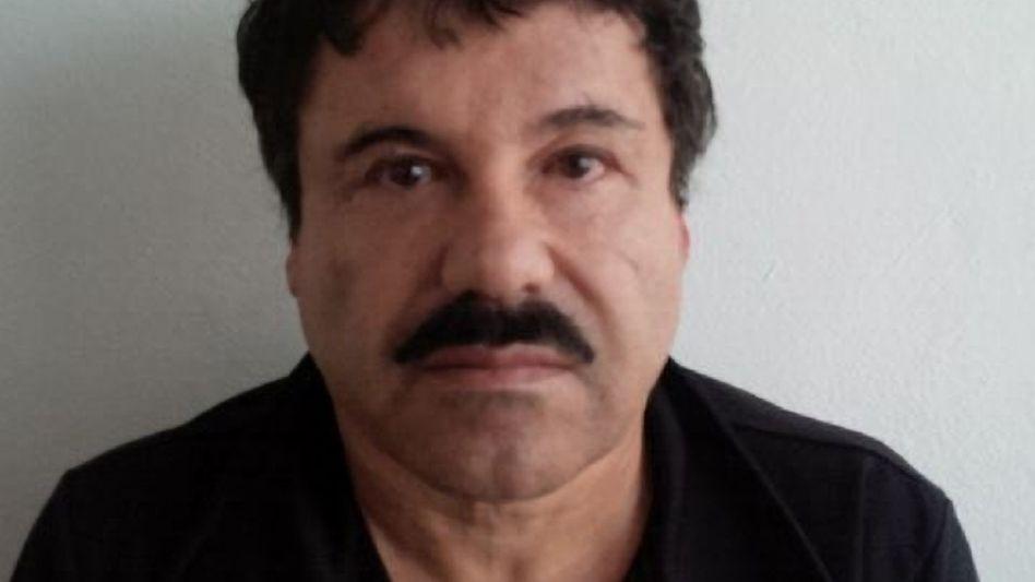Verhafteter Kartellchef Guzmán (Polizeifoto): Drogenschmuggel, illegale Finanzgeschäfte, organisiertes Verbrechen