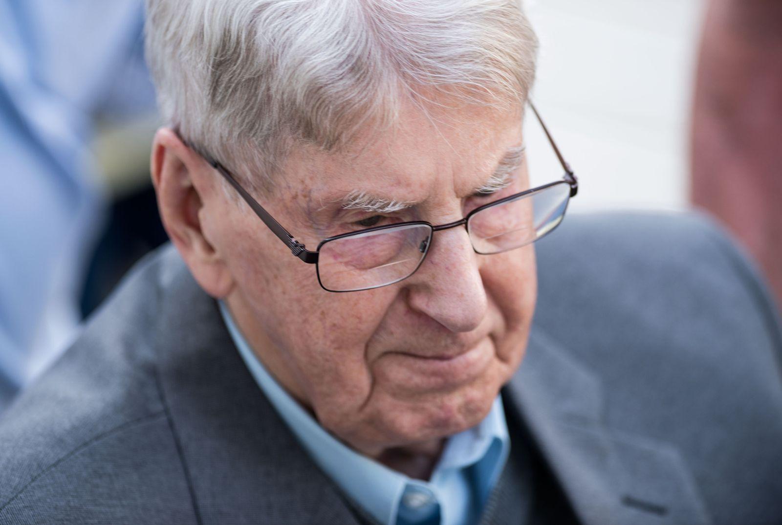 Reinhold Hanning / Auschwitz Prozess / Detmold