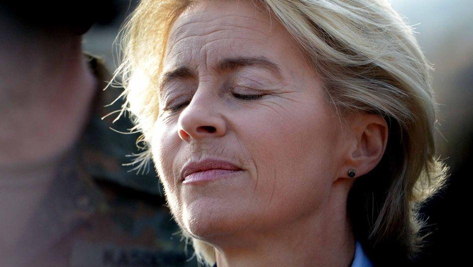 Ministerin von der Leyen (im Oktober 2014): In der Vorwärtsverteidigung