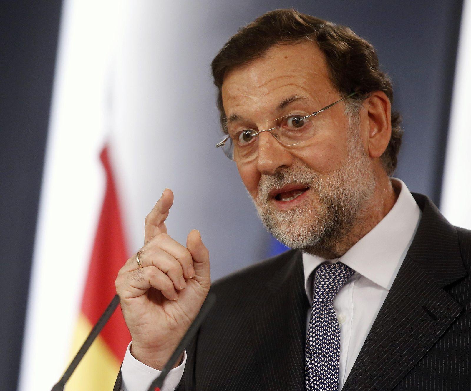 Rajoy Spanien