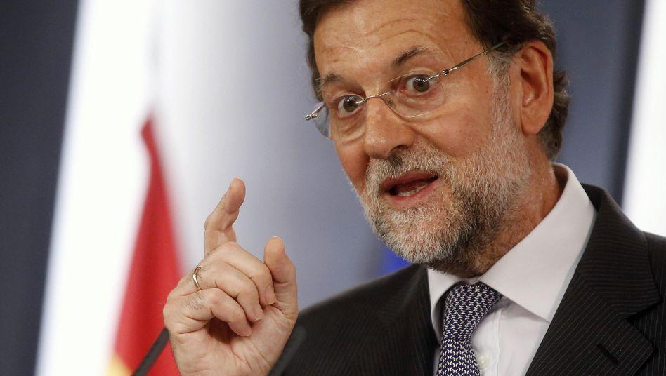 Spaniens Ministerpräsident Rajoy: Keine Vorschriften der EU