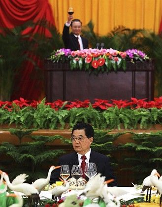 Chinese President Hu Jintao: deeply involved in the crisis of capitalism