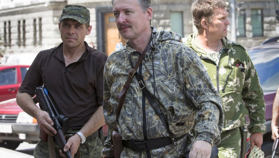 Strelkov in Donetsk last July. He is now in Moscow, but still fighting to return Russia to past greatness.