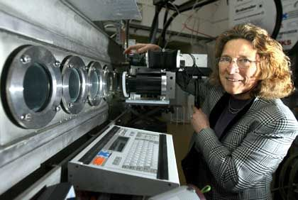 Bald Uni-Präsidentin? Raumfahrtforscherin Monika Auweter-Kurtz
