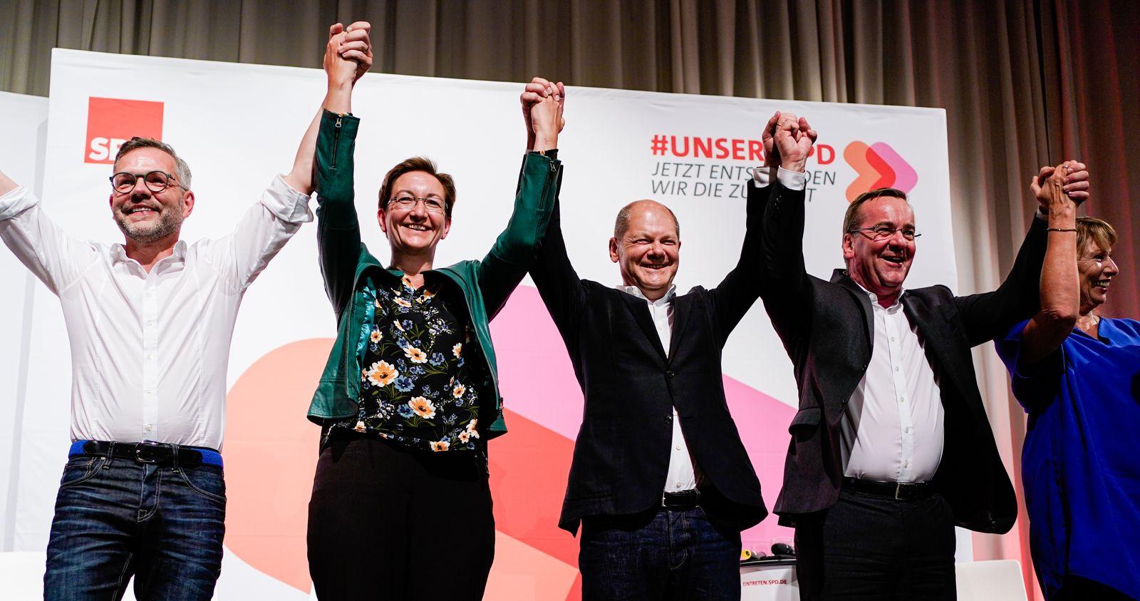 SPD/ Kandidaten für Parteivorsitz