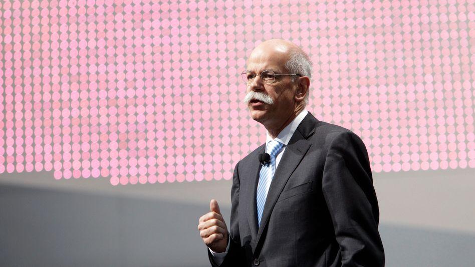 Daimler-Chef Zetsche: Pensionsanwartschaften von fast 30 Millionen Euro