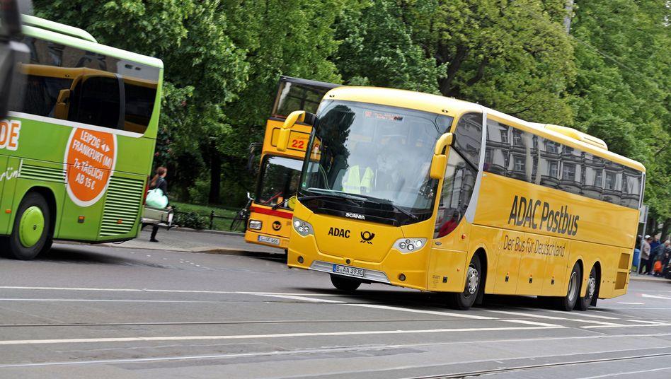 Der ADAC-Postbus: Fernbusse werden unter Reisenden immer beliebter