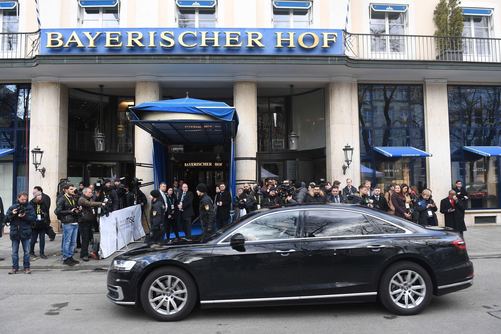 Münchner Sicherheitskonferenz - Ankunft der Gäste