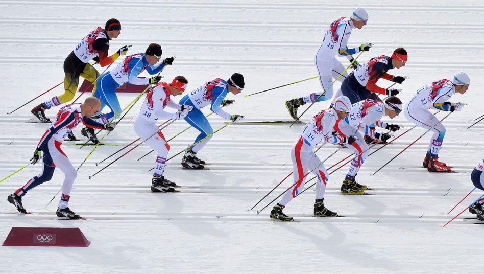 Skiathlon in Sotschi: Eigentlich nur ein Sprint mit langem Anlauf