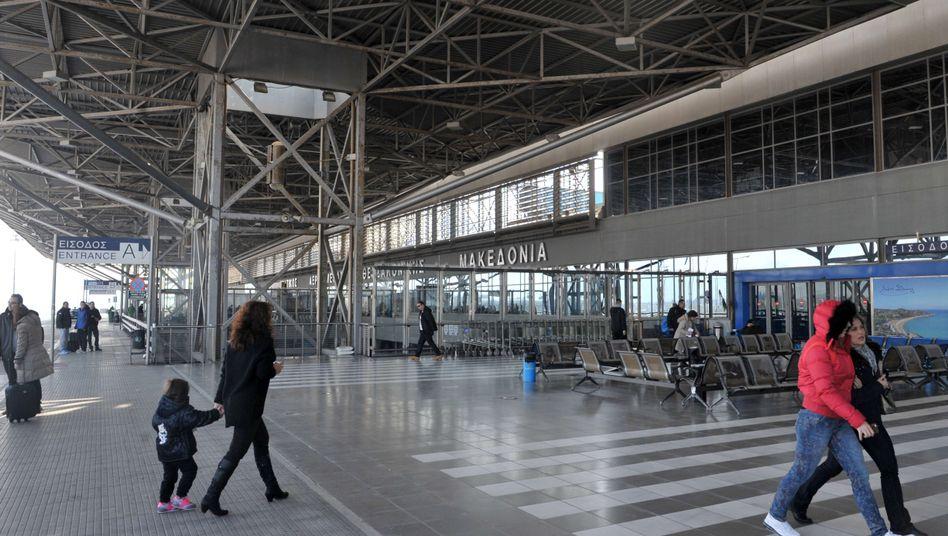 Flughafen von Thessaloniki: Keine großen Sprünge möglich