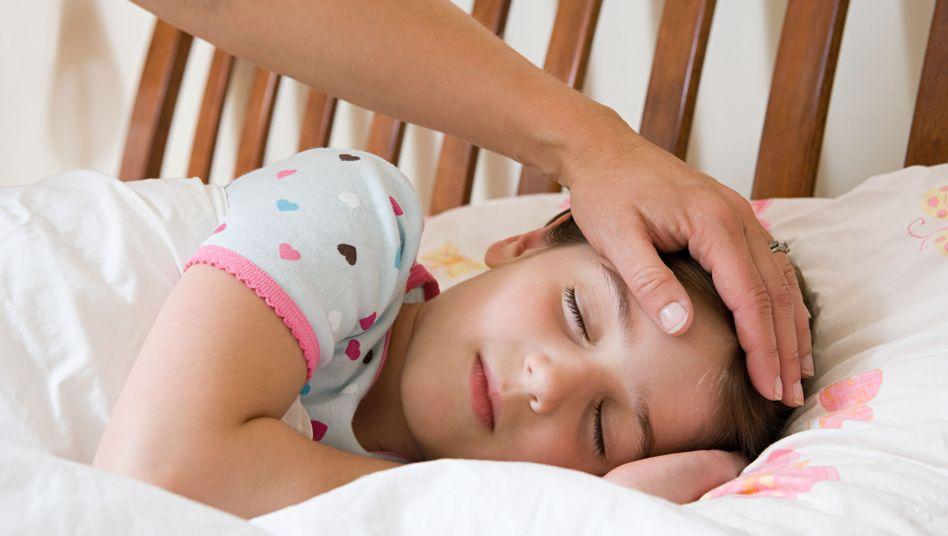 Schlafendes Kind: Stress oder durcheinander geratener Tagesrhythmus?