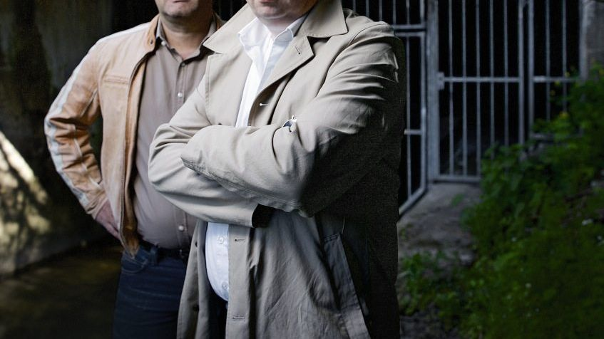Ermittler Lorey, Herrmann am Fundort des Opfers Tristan Brübach