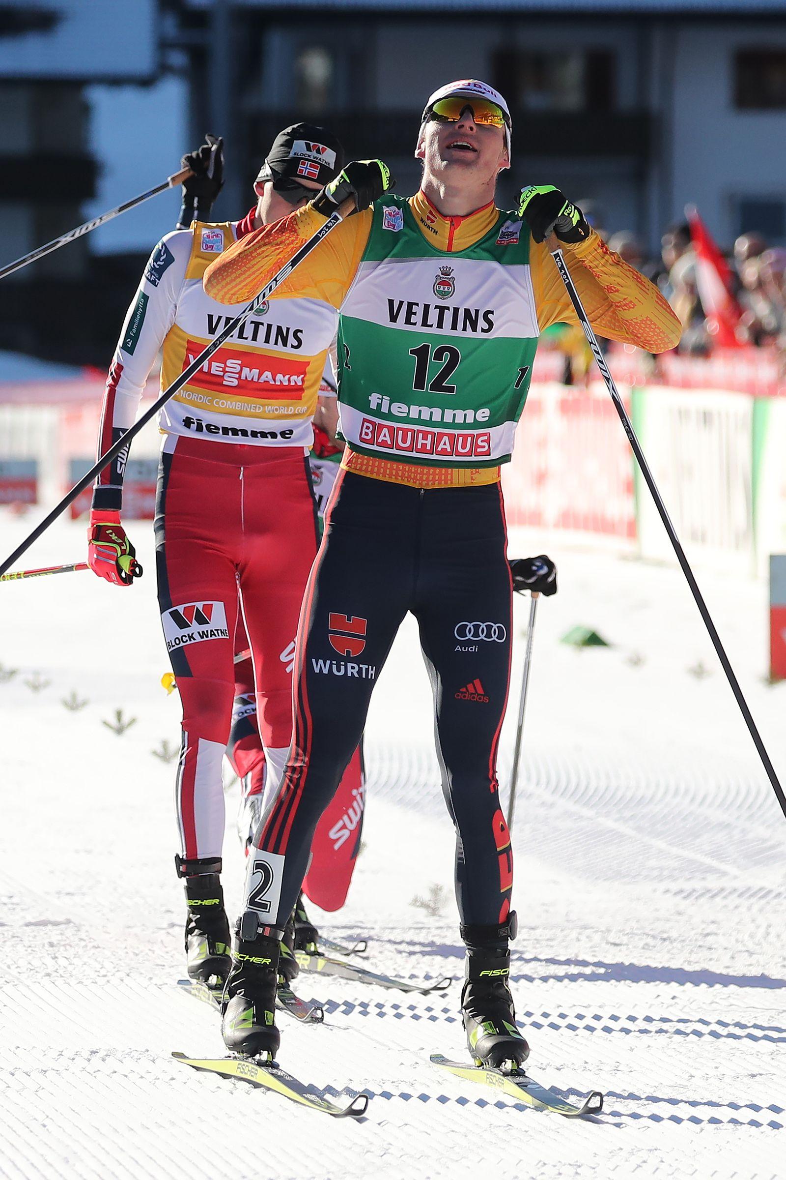 Nordic Combined World Cup in Val di Fiemme, Predazzo, Italy - 11 Jan 2020