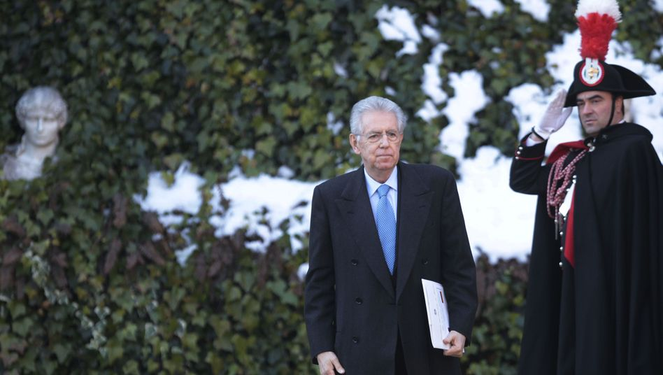 """Italiens Ministerpräsident Monti: """"Der wichtigste Mann in Europa"""""""